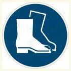 Fußschutz benutzen, M008