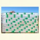 """Jahresplaner A1 mit Motiv """"Landschaft"""" - Folie selbstklebend"""