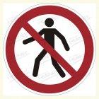 Für Fußgänger verboten, P004