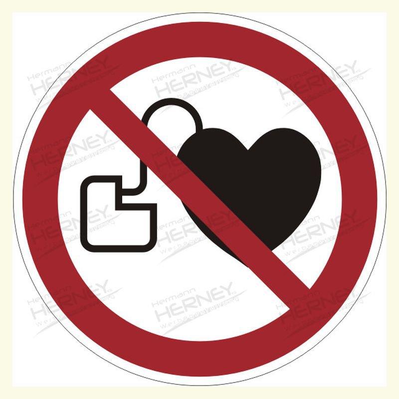 Kein Zutritt mit Herzschrittmacher, P007